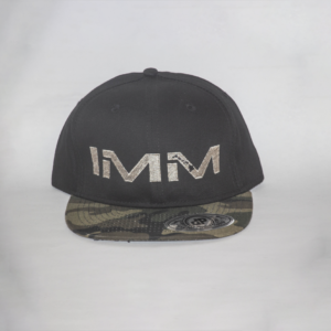 Black + Camo Intense Motorsports Maui Flex-fit Cap