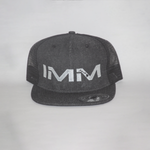 Dark Grey Intense Motorsports Maui Flex-fit Cap