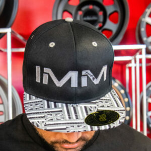 Grey Hawaiian Flag Intense Motorsports Maui Flex-fit Cap