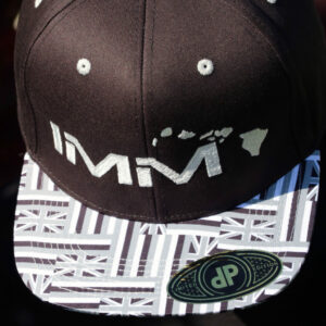 Grey Hawaiian Flag Intense Motorsports Maui Flex-fit Cap 2020