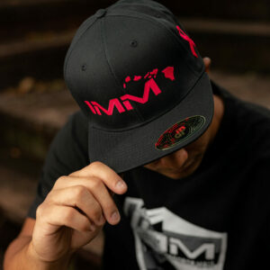 Pink + Black Intense Motorsports Maui Flex-fit Cap