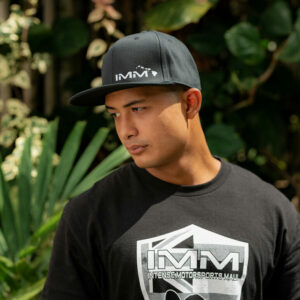 Black /w Small Logo Intense Motorsports Maui Flex-fit Cap