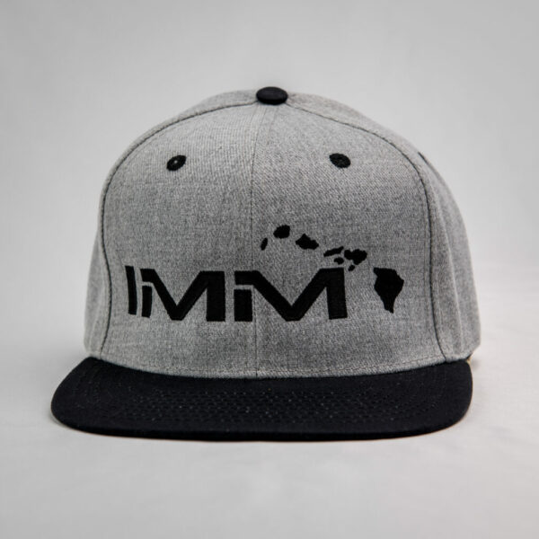 Grey + Black Intense Motorsports Maui Flex-fit Cap 2020