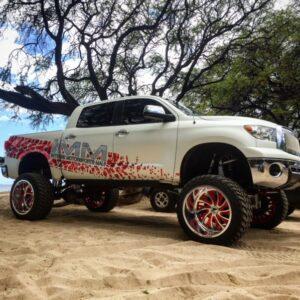 "BulletProof 2007-2021 Toyota Tundra 10″ - 12"" Lift Kit (Stage 1)"